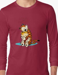 CALVIN HUG HOBBES : TSHIRT Long Sleeve T-Shirt