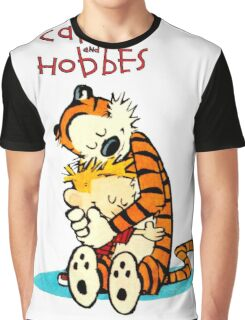 CALVIN HUG HOBBES : TSHIRT Graphic T-Shirt