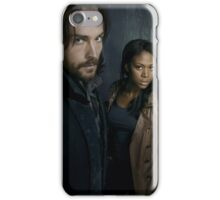 Sleepy Hollow - Ichabod and Abbie iPhone Case/Skin
