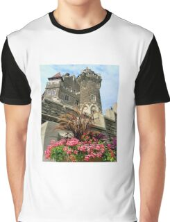 Scottish Tower. The East or Scottish Tower (back view)  Graphic T-Shirt