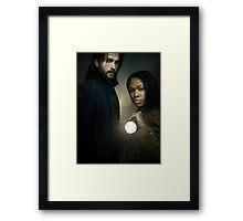 Ichabod and Abbie - Sleepy Hollow Framed Print