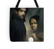 Ichabod and Abbie - Sleepy Hollow Tote Bag
