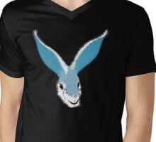 White Rabbit!  Mens V-Neck T-Shirt