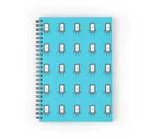 Mobile Man Spiral Notebook