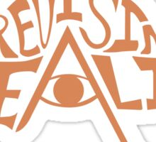 Revising Reality Illuminated Being Logo Sticker