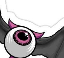 Flying Devil Eye Sticker