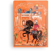 Prince on horse.  Metal Print