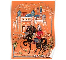 Prince on horse.  Poster