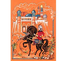 Prince on horse.  Photographic Print