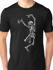 Dancing Skeleton - Transparent Background Unisex T-Shirt