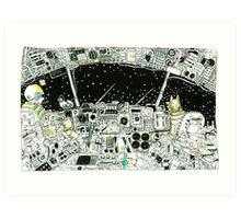 Night Flight to Venus Art Print