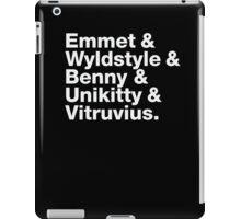 Brick Names iPad Case/Skin