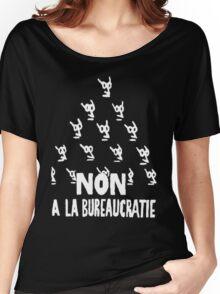 Non a la bureaucratie Women's Relaxed Fit T-Shirt