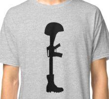 The Battle Field Cross Classic T-Shirt
