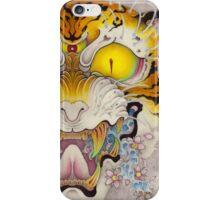 TIGER FACE Cloud and Wave, SAKURA iPhone Case/Skin