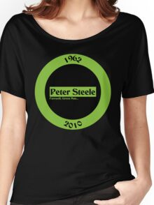 Peter Steele Tribute Type O Negative Women's Relaxed Fit T-Shirt