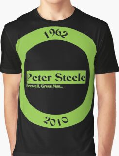 Peter Steele Tribute Type O Negative Graphic T-Shirt