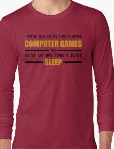 Computer Games Long Sleeve T-Shirt