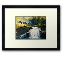 Sheen Falls Framed Print