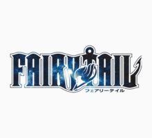 Fairy Tail Blue Logo One Piece - Short Sleeve