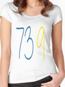 GOLDEN STATE WARRIORS 73 9 Women's Fitted Scoop T-Shirt