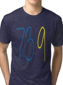 GOLDEN STATE WARRIORS 73 9 Tri-blend T-Shirt