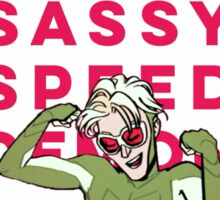 Sassy Speed Demon Sticker