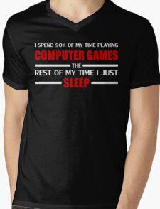 Computer Games Mens V-Neck T-Shirt