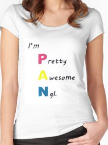 I'm PAN Women's Fitted Scoop T-Shirt
