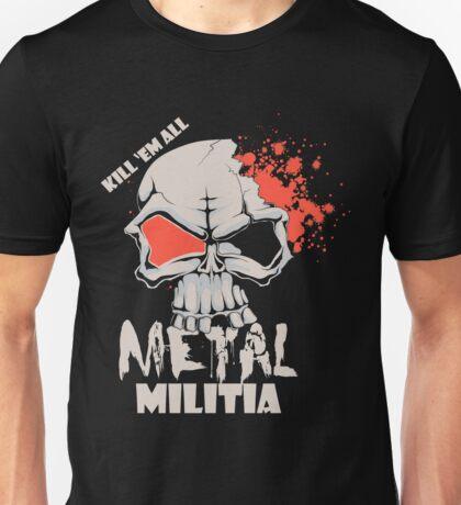 Metal Militia Unisex T-Shirt