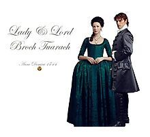 Outlander/Jamie & Claire/Lord & Lady Broch Tuarach Photographic Print