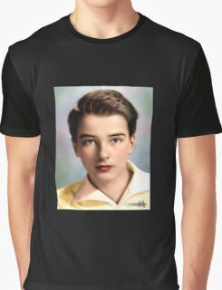 Colorized YOung Montgomery Clift 1937 Graphic T-Shirt