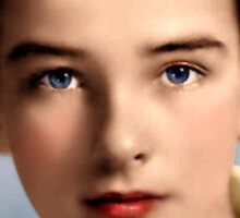 Colorized YOung Montgomery Clift 1937 Sticker