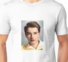 Colorized YOung Montgomery Clift 1937 Unisex T-Shirt