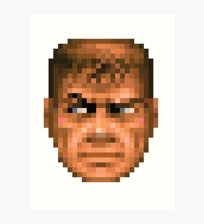 Doom Face 2 Art Print