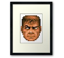 Doom Face 2 Framed Print