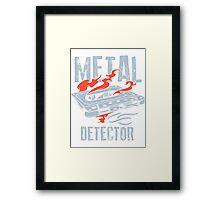 Metal Detector Framed Print