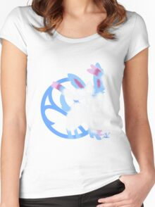 Sylveon Shiny Women's Fitted Scoop T-Shirt
