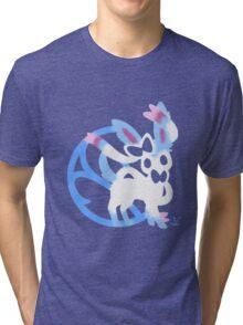 Sylveon Shiny Tri-blend T-Shirt