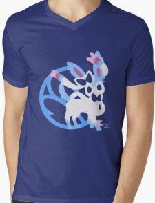 Sylveon Shiny Mens V-Neck T-Shirt