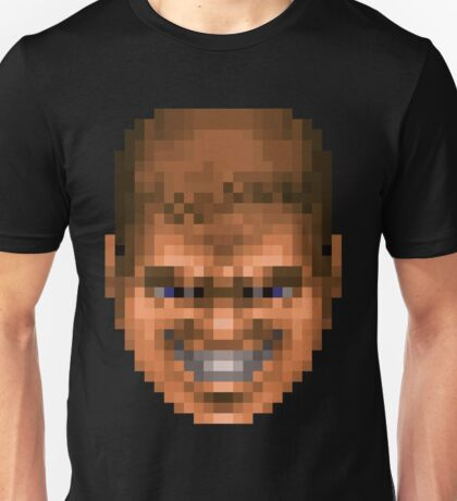Doom Face 3 Unisex T-Shirt