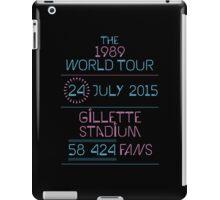 24th July - Gillette Stadium iPad Case/Skin
