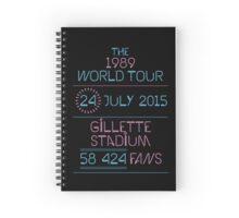 24th July - Gillette Stadium Spiral Notebook