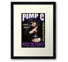 R.I.P. Pimp C Framed Print