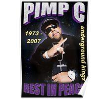 R.I.P. Pimp C Poster