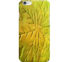 Green Gloss Leafs iPhone Case/Skin