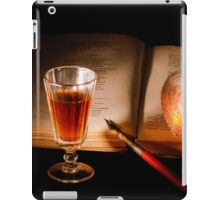 Still life with a book iPad Case/Skin