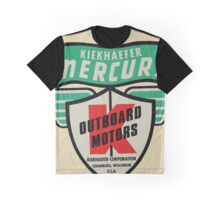 Mercury Kiekhaefer vintage outboard motors. USA Graphic T-Shirt