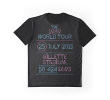 25th July - Gillette Stadium Graphic T-Shirt