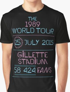 25th July - Gillette Stadium Graphic T-Shirt